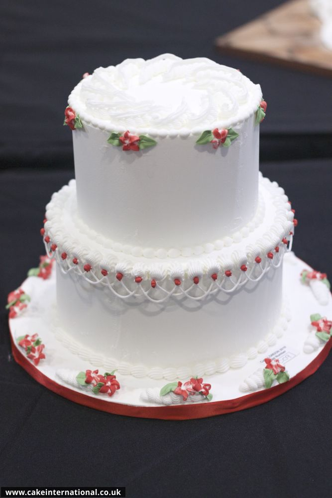 Class J Royal Iced Celebration Cake